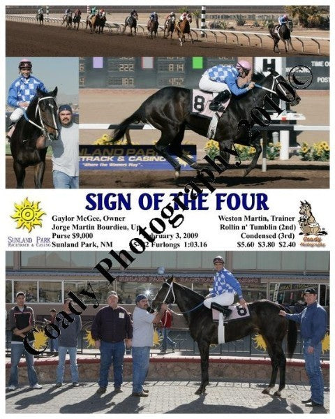 Sign of the Four  -    -  2 3 2009