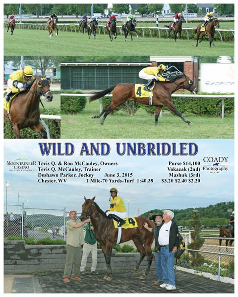 WILD AND UNBRIDLED - 060315 - Race 01 - MNR