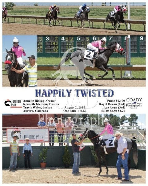 Happily Twisted - 080214 - Race 01 - ARP