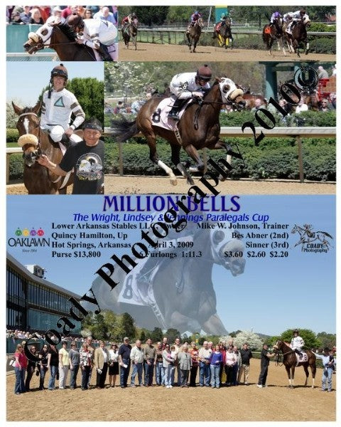 MILLION BELLS  -  The Wright, Lindsey & Jennings P