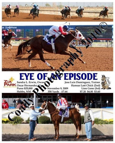 EYE OF AN EPISODE  -  Hobbs America Futurity Trial