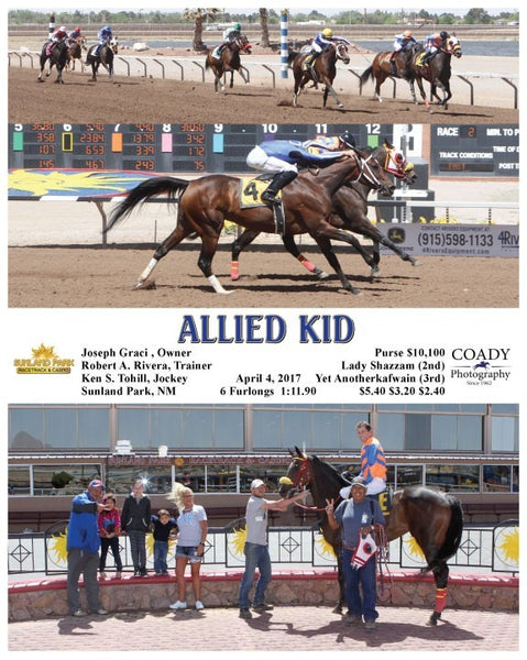 ALLIED KID - 040417 - Race 02 - SUN
