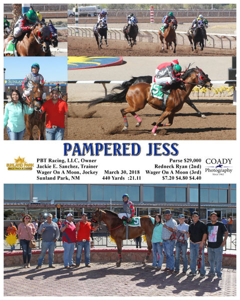 PAMPERED JESS - 033018 - Race 8 - SUN