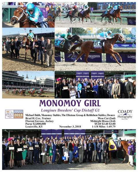 MONOMOY GIRL - 110318 - Race 09 - CD