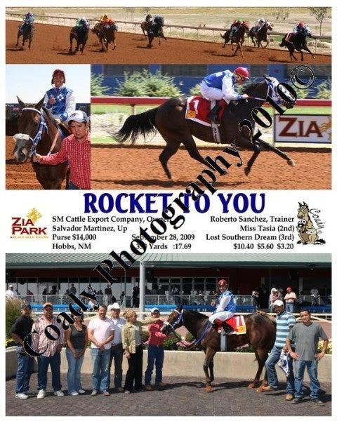 ROCKET TO YOU  -    -  9 28 2009
