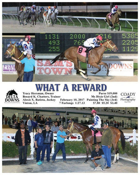 WHAT A REWARD - 021017 - Race 06 - DED