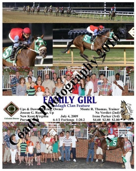 FAMILY GIRL  -  Claddagh Clan Feature  -  7 4 2009