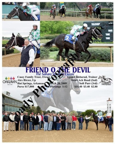 FRIEND O THE DEVIL  -  The Sahara Shriners Classic