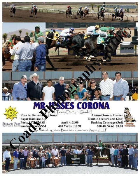 Mr Jesses Corona  -  West Texas Derby ~ Grade II