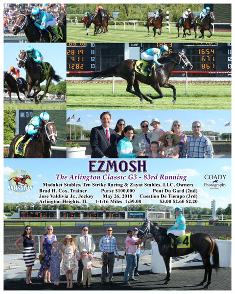 EZMOSH - The Arlington Classic G3 - 83rd Running - 05-26-18 - R08 - AP