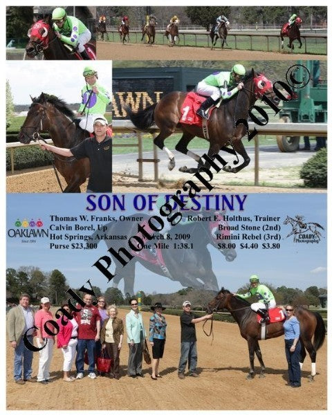 SON OF DESTINY  -    -  3 8 2009