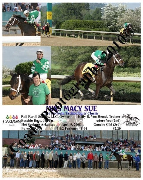 MISS MACY SUE  -  The NetGain Technologies Classic