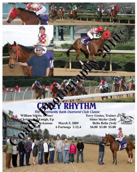CRAZY RHYTHM  -  The Community Bank Diamond Club C