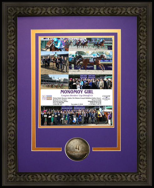 MONOMOY GIRL - 2018 Longines Breeders' Cup Distaff G1 - Limited Edition