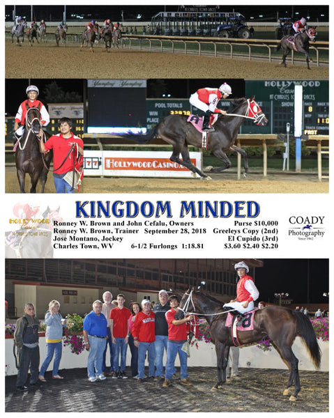 KINGDOM MINDED - 092818 - Race 08 - CT