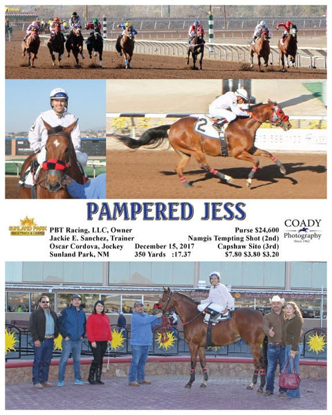 PAMPERED JESS - 121517 - Race 06 - SUN