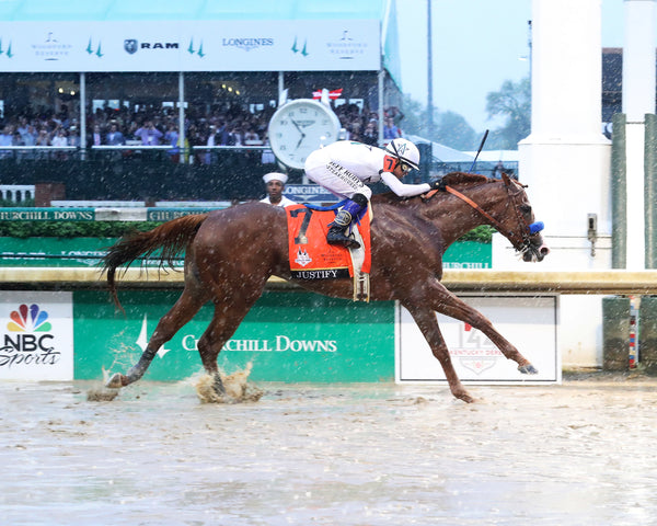 JUSTIFY - 050518 - Race 12 - CD The Kentucky Derby G1 - Finish 1