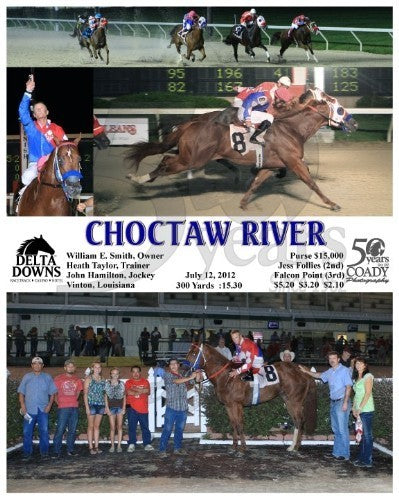 CHOCTAW RIVER - 071212 - Race 09