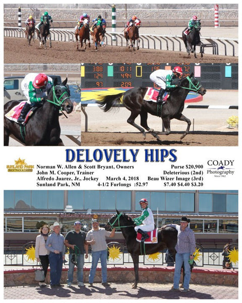 DELOVELY HIPS - 030418 - Race 1 - SUN