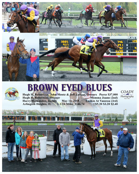 BROWN EYED BLUES - 051218 - Race 05 - AP
