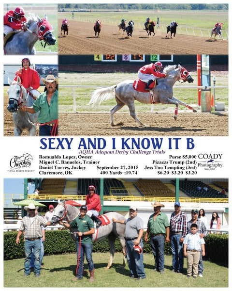 SEXY AND I KNOW IT B - 092715 - Race 02 - WRD