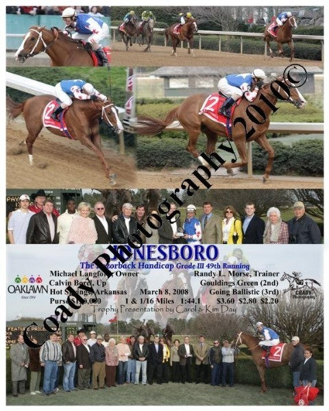 JONESBORO  -  The Razorback Handicap Grade III 49t