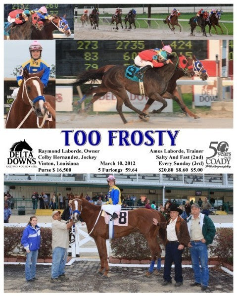 TOO FROSTY - 031012