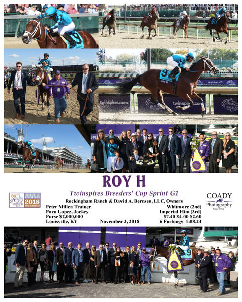 ROY H - Twinspires Breeders' Cup Sprint G1 - 11-03-18 - R07 - CD