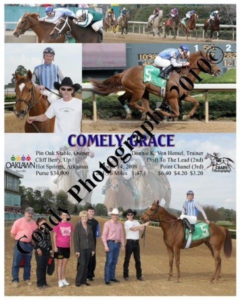 COMELY GRACE  -    -  3 14 2008