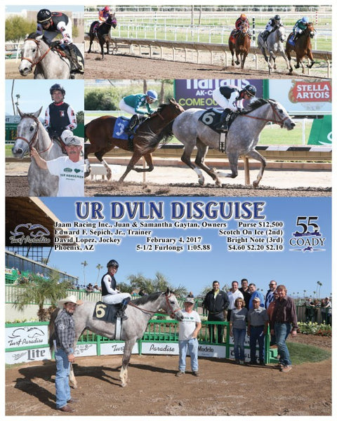 UR DVLN DISGUISE - 020417 - Race 02 - TUP