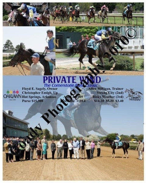 PRIVATE WIND  -  The Cornerstone Bank Classic  -