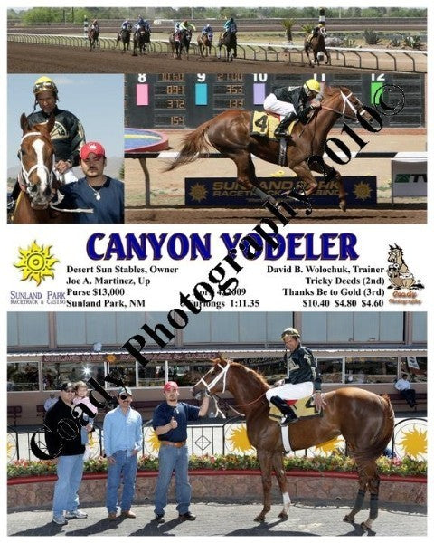 Canyon Yodeler  -    -  4 4 2009