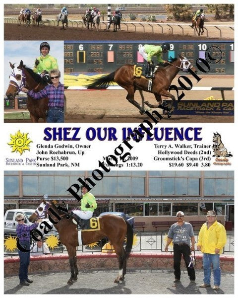 Shez Our Influence  -    -  3 10 2009