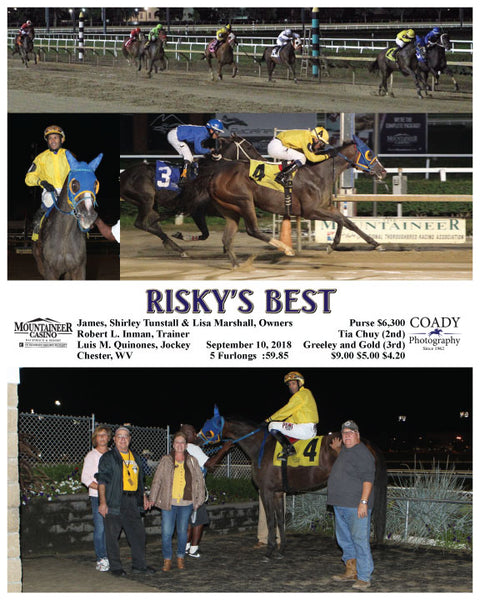 RISKY'S BEST - 091018 - Race 07 - MNR
