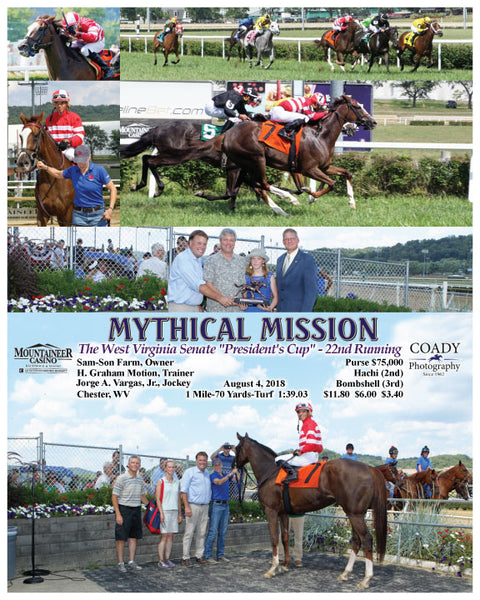 MYTHICAL MISSION - 080418 - Race 05 - MNR