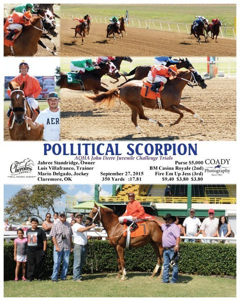 POLLITICAL SCORPION - 092715 - Race 05 - WRD