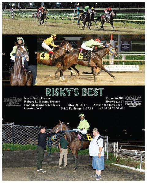 RISKY'S BEST - 052117 - Race 09 - MNR