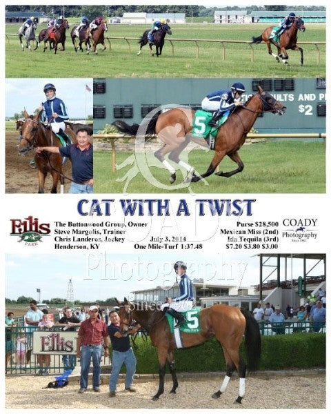 Cat With A Twist - 070314 - Race 08 - ELP
