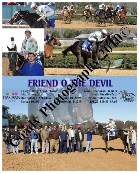 FRIEND O THE DEVIL  -    -  1 18 2009