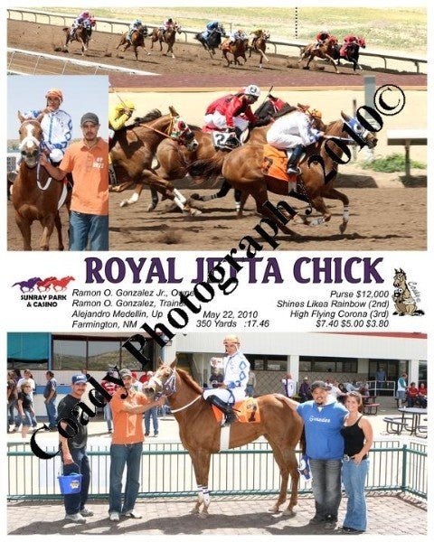 ROYAL JETTA CHICK  -  5/22/2010