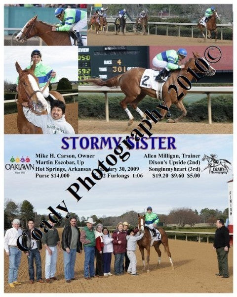 STORMY SISTER  -    -  1 30 2009