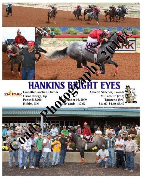 HANKINS BRIGHT EYES  -    -  9 19 2009