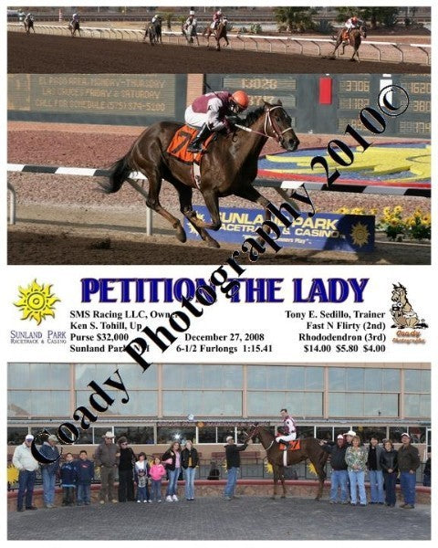 Petition the Lady  -    -  12 27 2008