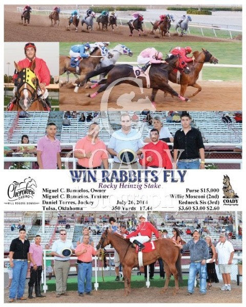 WIN RABBITS FLY - 072614 - Race 06 - FMT