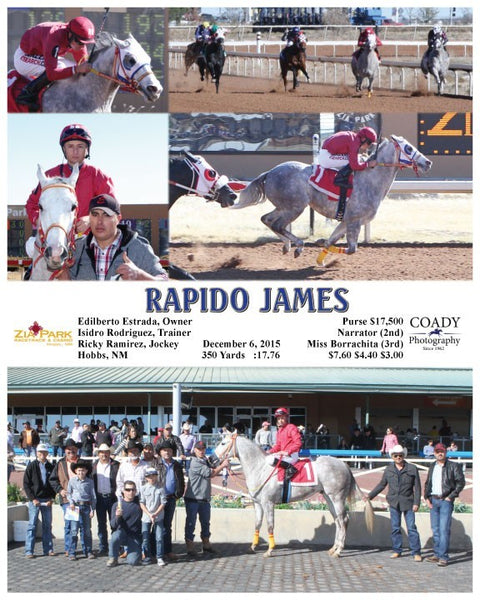 RAPIDO JAMES - 120615 - Race 01 - ZIA