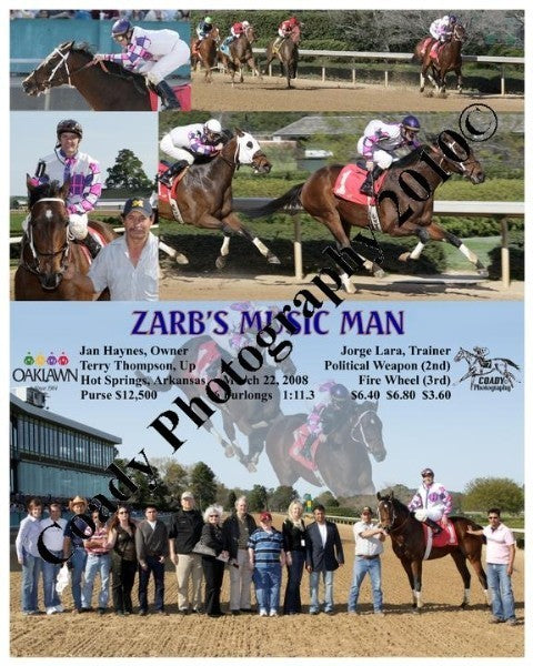 ZARB S MUSIC MAN  -    -  3 22 2008