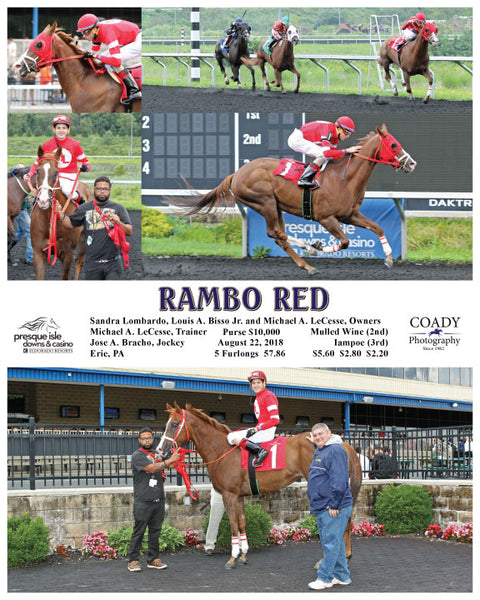 RAMBO RED  - 082218 - Race 02 - PID
