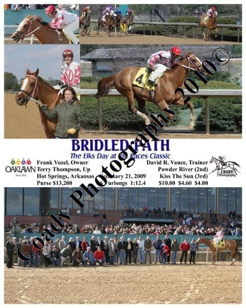 BRIDLED PATH  -  The Elks Day at the Races Classic