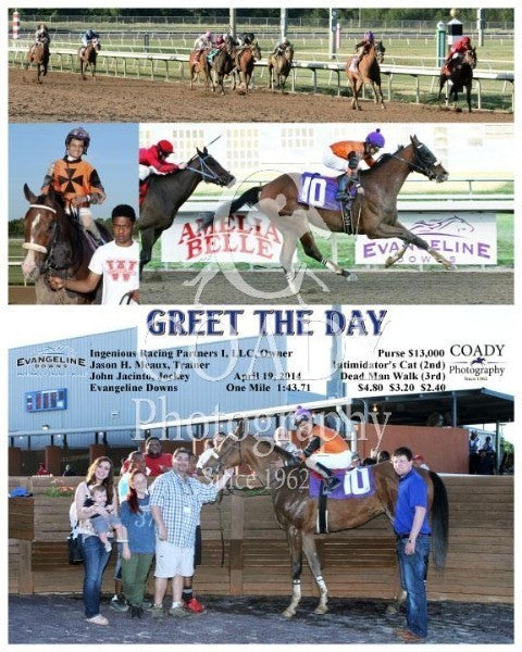 Greet the Day - 041914 - Race 03 - EVD