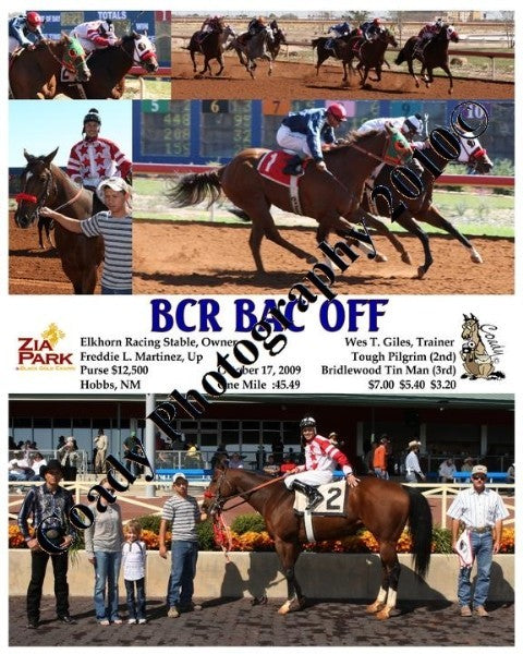 BCR BAC OFF  -    -  10 17 2009